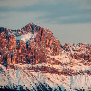 Tramonto da San Genesio (BZ)